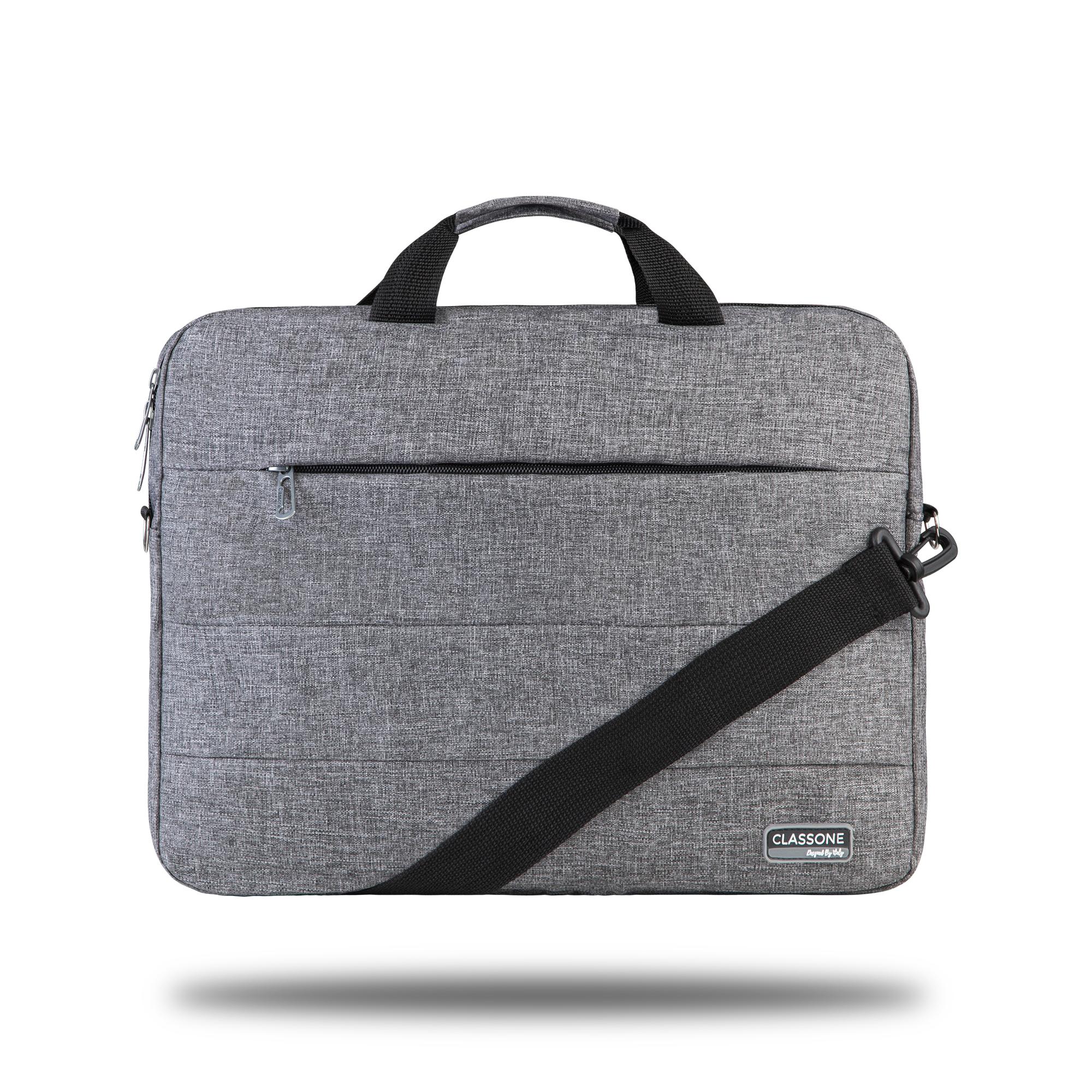 Classone Romeo Large Serisi TL2004 15.6 inch Uyumlu Notebook Çantası – Gri