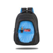 Classone Milano Serisi 15.6 inch Su Geçirmez Kumaş ve Fermuarlı Sırt Çantası - Siyah