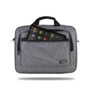 Classone Business Large Serisi TL3004 15.6 inch Uyumlu Notebook Çantası - Gri