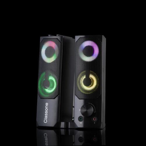 Classone X3 Black Sound Bar RGB Hoparlör