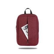 Classone PR-R165 Roma Large Serisi Notebook 15,6 inch Sırt Çantası 15.6 - Bordo