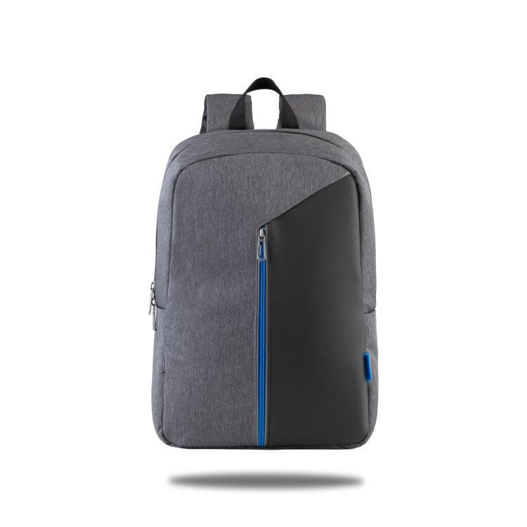 Classone Modena Serisi PR-R304-M 15.6 Sırt Notebook Çantası-Gri-Mavi Astar