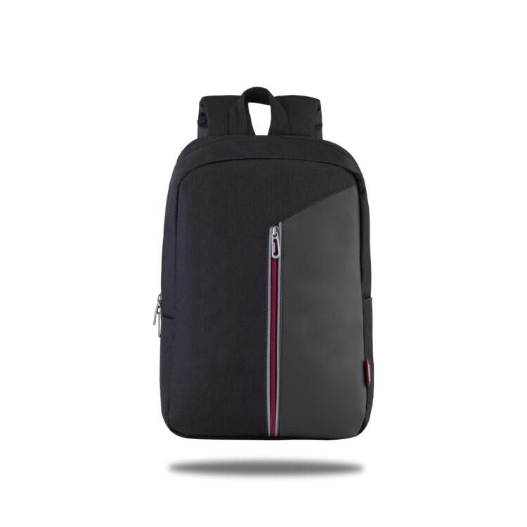 Classone Modena Serisi PR-R300-B 15.6 Sırt Notebook Çantası-Siyah-Bordo Astar