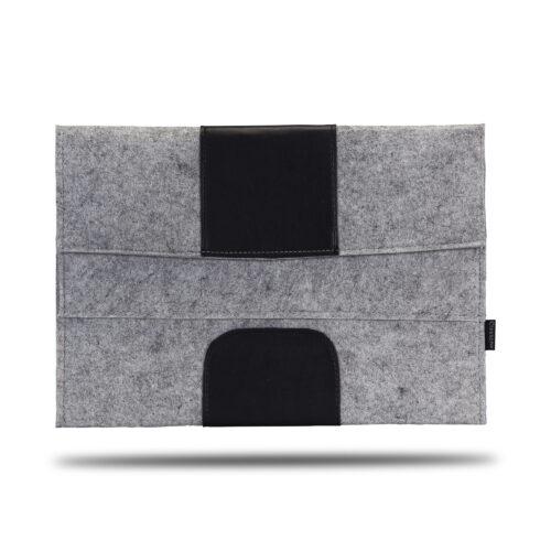 Classone Avantgarde 15.6 inch Laptop Kılıfı -Gri/Siyah