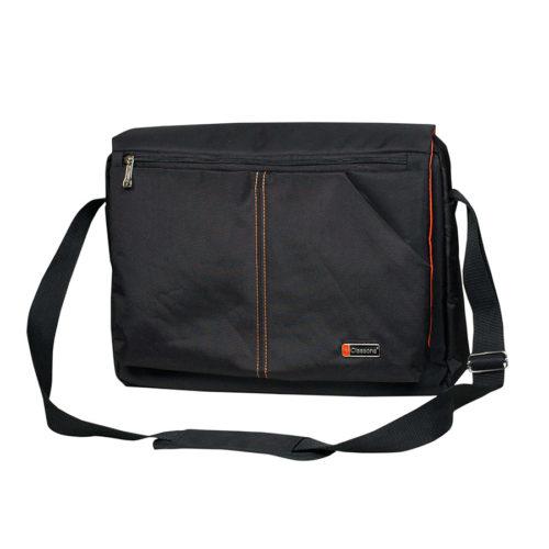 Messenger Large Serisi Promosyon Notebook Çantası Siyah