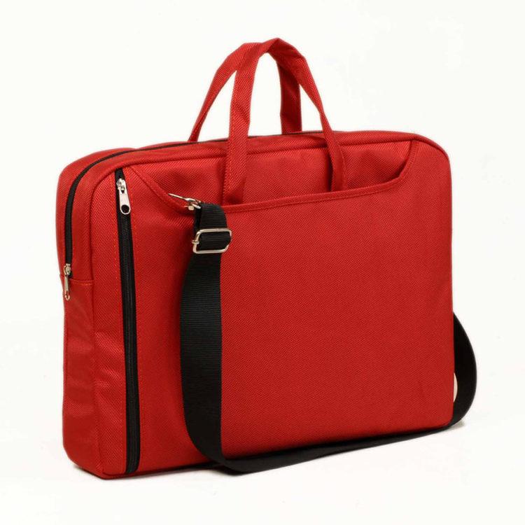 Clasone NB156R-2 Rainbow Large Serisi 15,6 inch Notebook Çantası Kırmızı