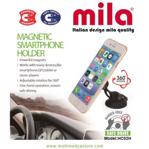 Stand Özellikli, Magnetli, Araç İçi Telefon Tutucu