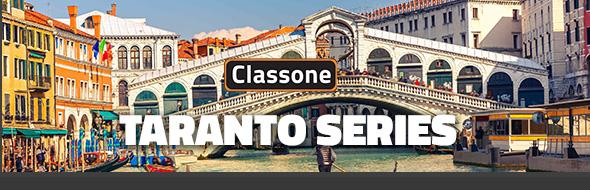 Classone Taranto Serisi 14 inch Su Geçirmez Kumaş Laptop El Çantası -Bordo